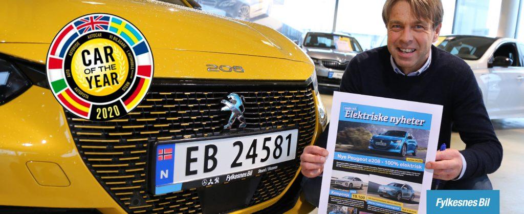 Arve Paulsen har mange spennende elektrifiserte nyheter å tilby - bl.a. nye Peugeot e-208. Kom innom og prøv den nå!